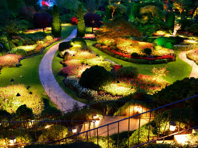 Landscape Lighting - Outdoor Lighting Design - B&B Group, Indianapolis IN